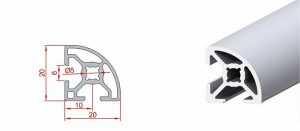 20x20 Radiuslu Sigma Profil