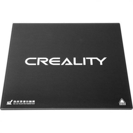 Creality Ender 3 V2 Karbon Silikon Cam (Tempered Glass)
