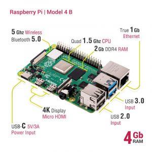 Raspberry Pi 4 4GB - Model B